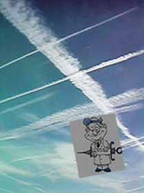 Chemtrails and                   Vaccinations.