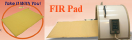 FIR                     heating pad.