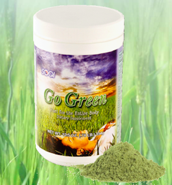 green dietary                     supplement