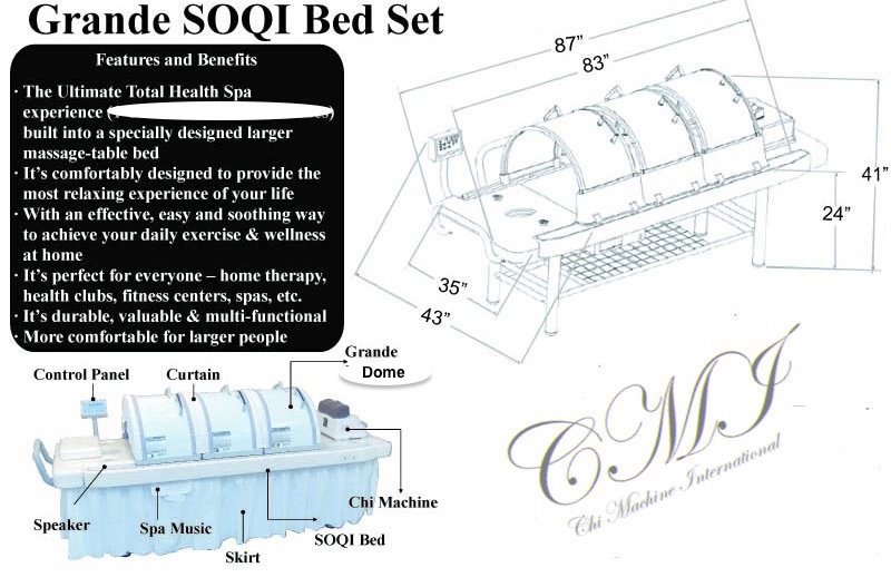 Grande SOQI bed           specifications.