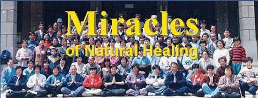 Miracle of                       healing.